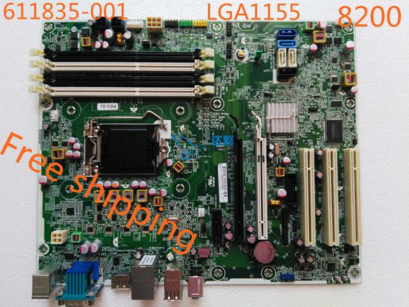 Elite LGA1155 HP 611835-001 for Compaq/8200/Elite 611796-003 Mainboard 100%Tested Fully-Work