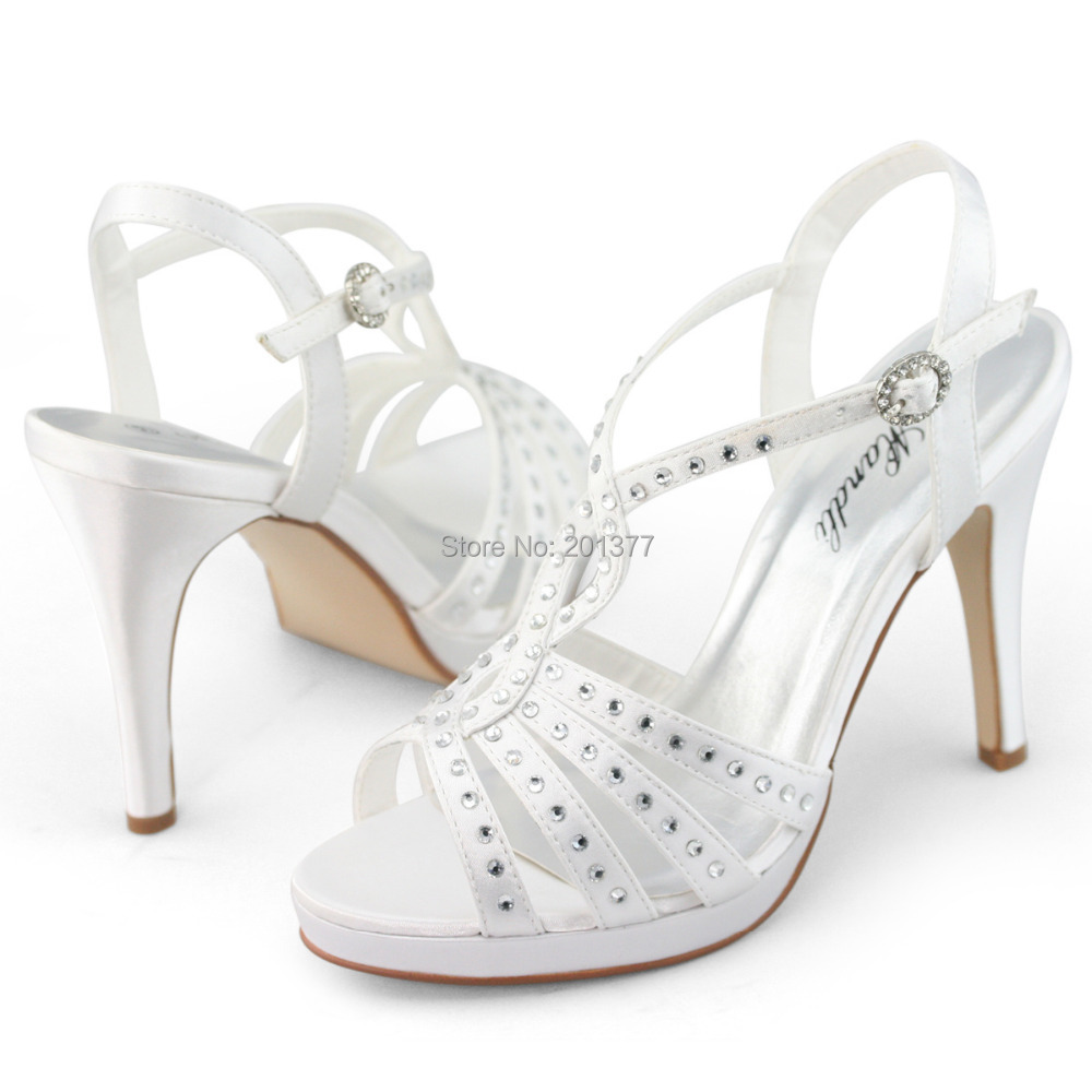 white shoes for wedding white wedding shoes strappy satin silk 1353