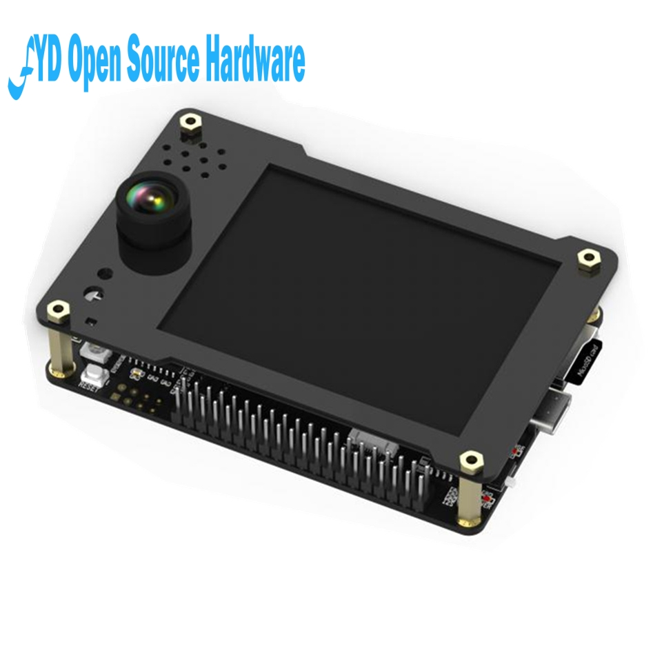 1pcs Sipeed MAIX GO K210 AI Pocket Deluxe Full-Featured Development Board with Shell Onboard Debugger