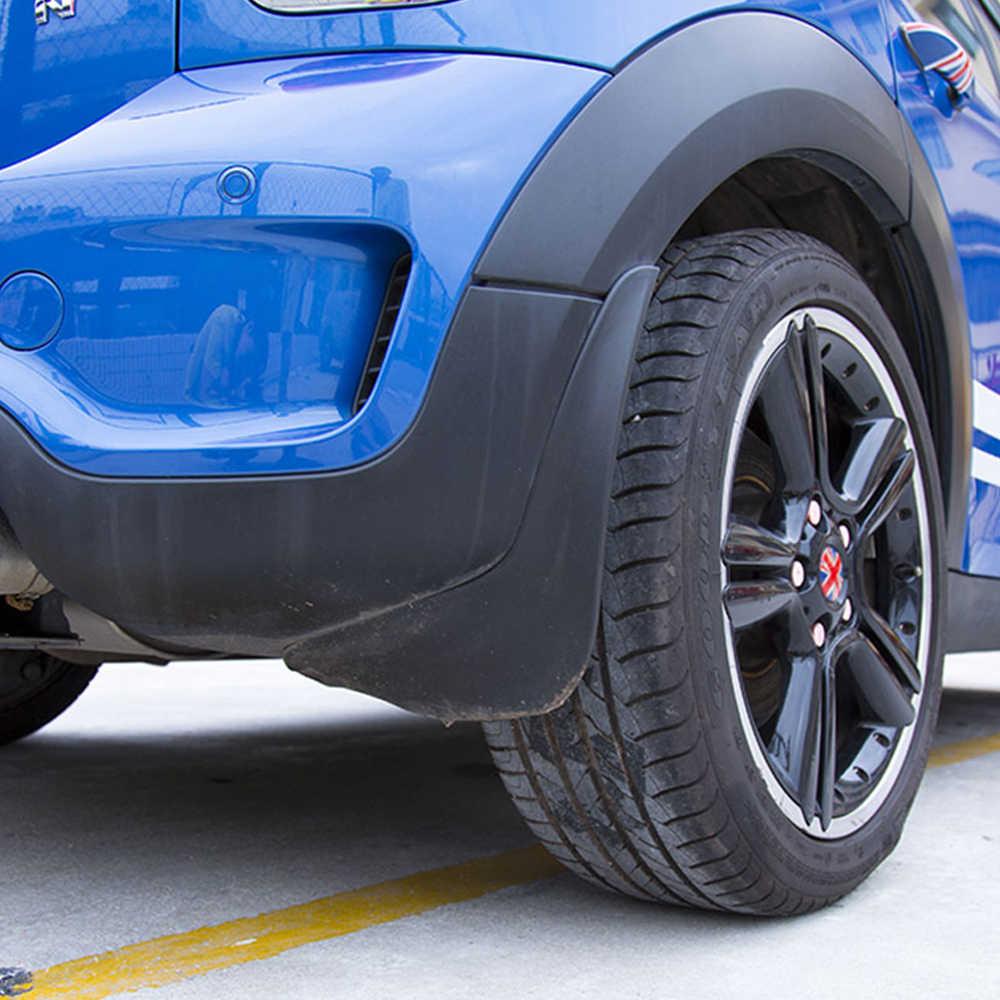 4 pièces/ensemble pour BMW MINI Cooper Countryman F60 garde-boue garde-boue garde-boue avant et arrière accessoires de voiture