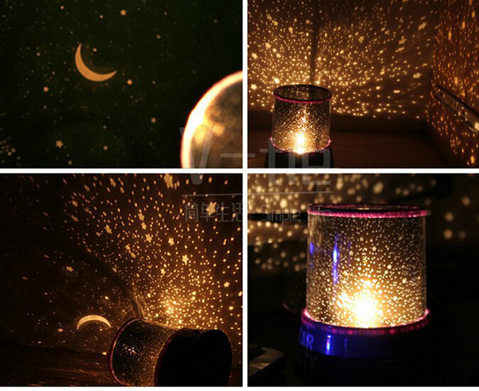Lightbox Colorful Twilight Sky Star Master Projector Lamp Starry Led Night Light Amazing Bed Side Gift Black Body In Up Toys From