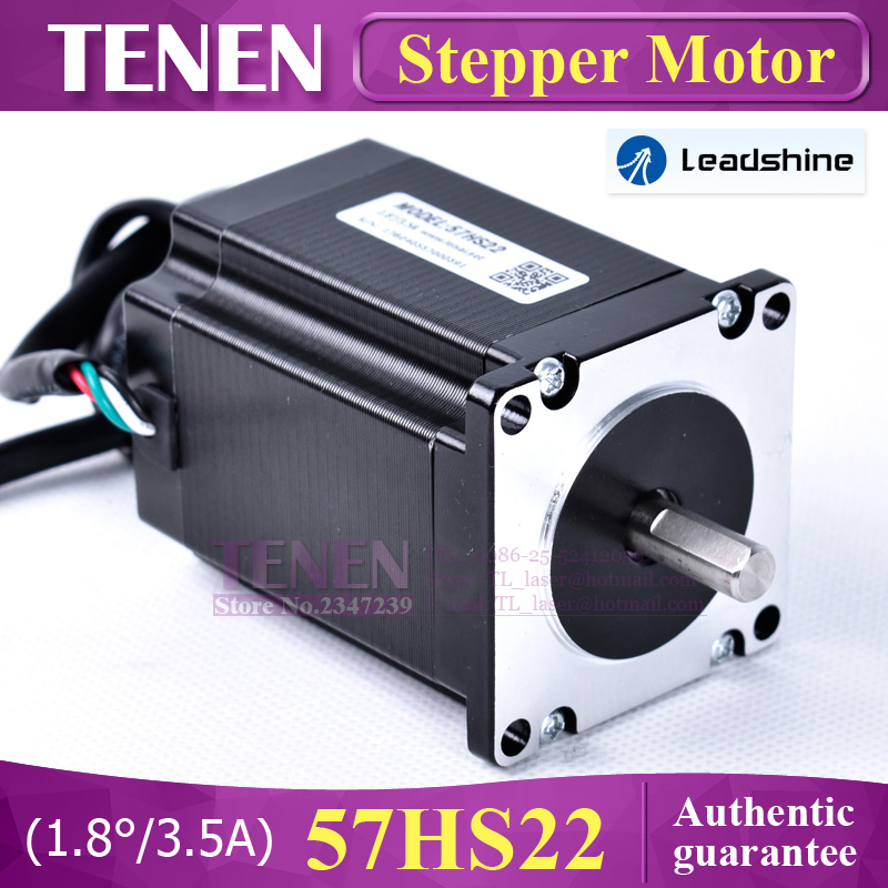Leadshine 2 фазы шаговый двигатель 57HS22 для NEMA23