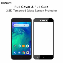 2pcs Full Cover & Glue Screen Protector Xiaomi RedMi Go Glass Tempered For Redmi Film
