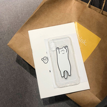 HKGK 2019 Cute Animal Cat Patterned Case For iPhone X XS MAX XR 6 6S Plus Transparent Soft Cover For iPhone 7 8 Plus X Case Back стоимость