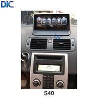 DLC системы Android навигации автомобиля плеер Многофункциональный GPS; автостайлинг 10,25 inch видео аудио для volvo S40