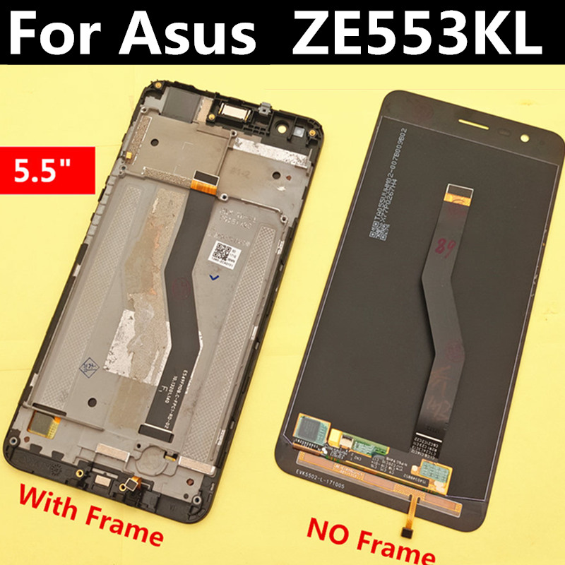 For Asus ZenFone 3 Zoom ZE553KL Z01HD LCD Display Touch Screen Digitizer Assembly Replacement Accessories 5