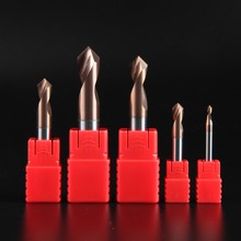 купить LIJUN HRC60 Alloy Coated Tungsten Carbide Steel Point Angle 90 Degree Spot Drill Bit for Machining Hole Drill Chamfering Tools дешево