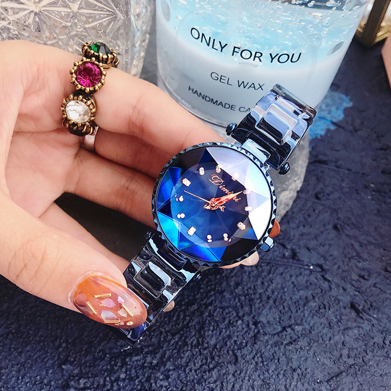 Top marque de luxe dames montre en cristal femmes robe montres femmes montres à Quartz femme en acier inoxydable montre horloges reloj mujer