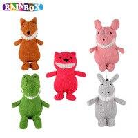 60 CM Baby kid Pluche Knuffel Gevulde Glimlach Animal Voor Jongens & meisjes Slapen Sussen Speelgoed Voor Kinderen Baby Kalm Pop zl775