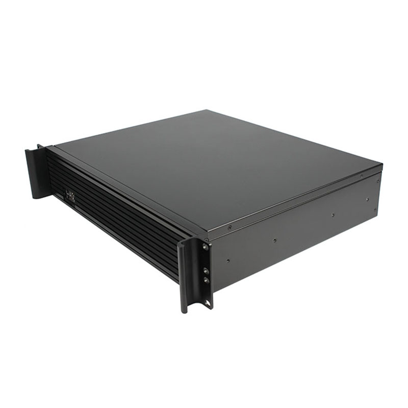 2U industrial industrial equipment, firewall, rack, aluminum panel, 2U350L ATX server chassis computer case цена