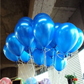 30pcs Round balloons10inch balloons gold blue latex balloon air balls wedding balon party decoration happy birthday ballon 1.5G
