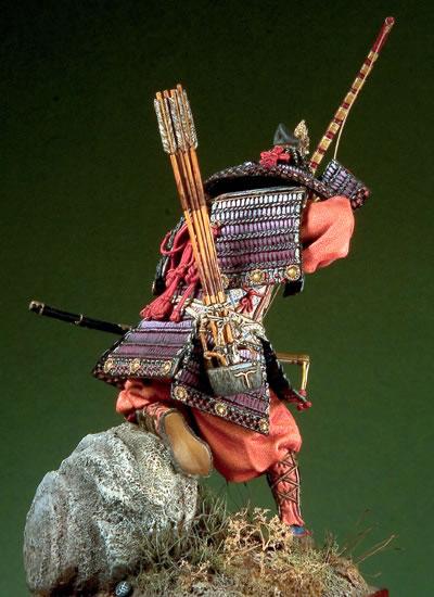Japaneseապոնացի սամուրայ գեներալները - Խաղային արձանիկներ - Լուսանկար 3