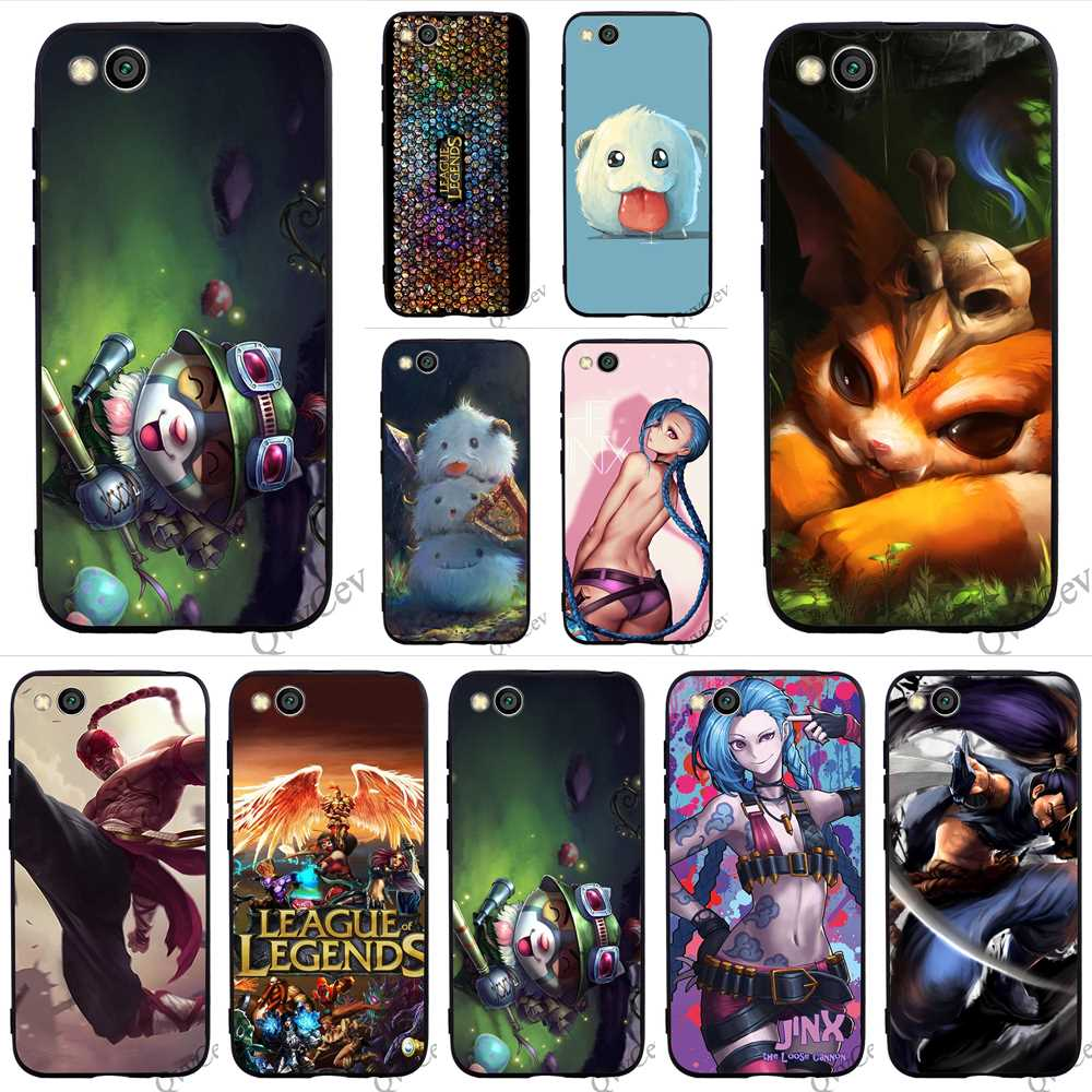Shockproof LOL League of Legends Phone Cover for Xiaomi A2 Lite Mi Case A1 6 8 F1 Covers Back in Fitted Cases from Cellphones Telecommunications