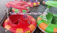 High Quality Amusement Park Adult Electric Bumper Boats Ride For Sale