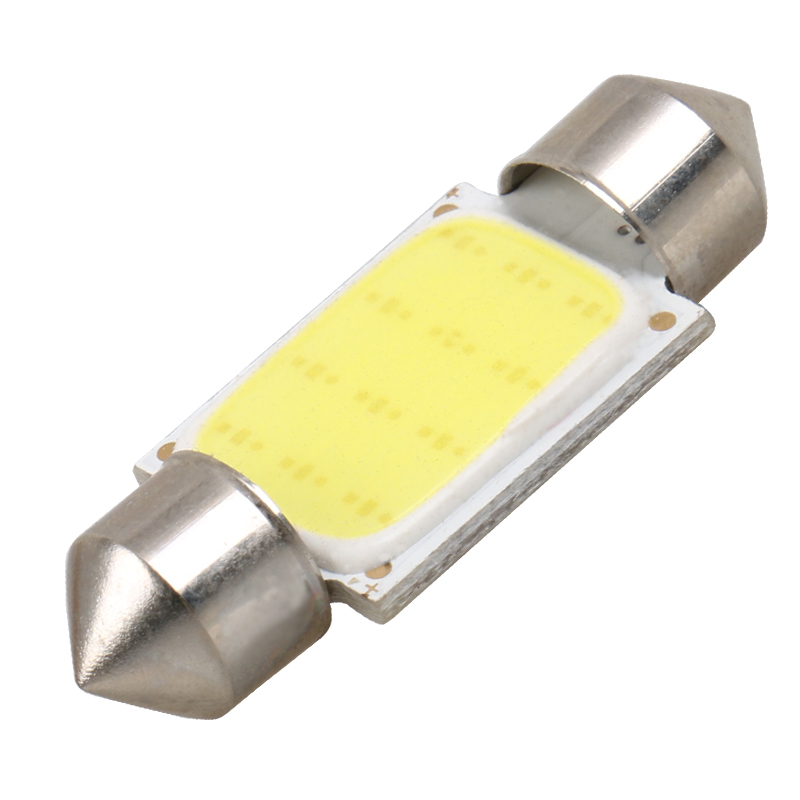 Festoon COB 31mm 36mm 39mm 42mm LED Bulb 12 Chips C5W DC12V White Color Car Dome Light Auto Interior Lamp 12v 1pcs 31mm 36mm 39mm 41mm white 3528 1210 car light 8smd 8 led c5w festoon dome lamp bulb dc 12v festoon dome car light bulb