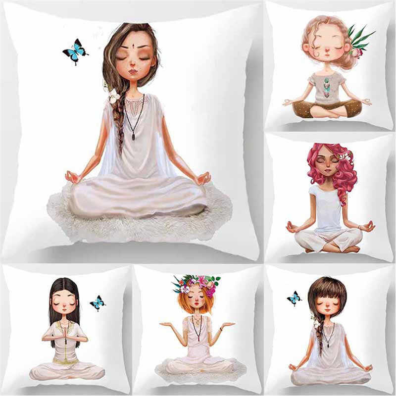 Yoga Sofa Macy S Remo Reviews Detail Feedback Questions About Meditation Pillowcase Decoration Car Cushion Cover Waist Home Decor Bedroom Decorative