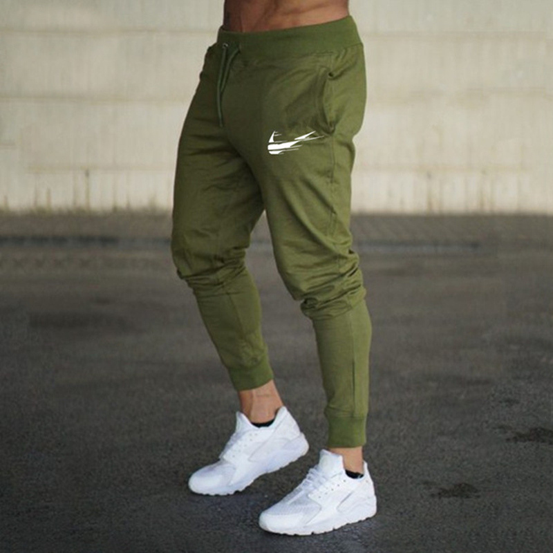 New Model Print emblem Gyms Males Joggers Informal Males Sweatpants Joggers Pantalon Homme Trousers Sporting Clothes Bodybuilding Pant Sweatpants, Low cost Sweatpants, New Model Print emblem Gyms Males Joggers...