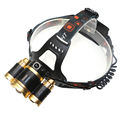 18650 rechargeable focus adjustable headlamp CREE XML T6 LED headlights bike bicycle front head flashlight for hunting