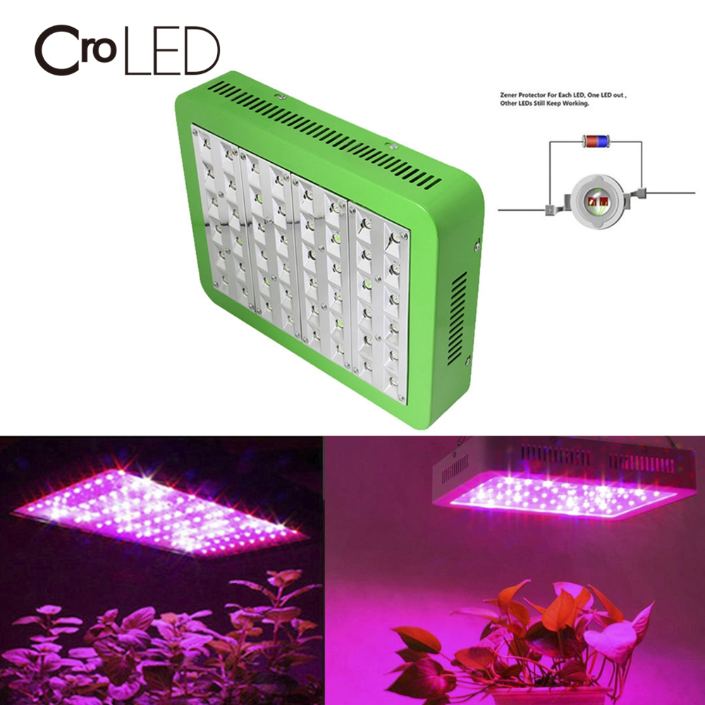 CroLED LED Grow Light 480W Full Spectrum Lamp Veg Flower Panel Lamps For Indoor Greenhouse Grow Tent Plants Grow LED Light