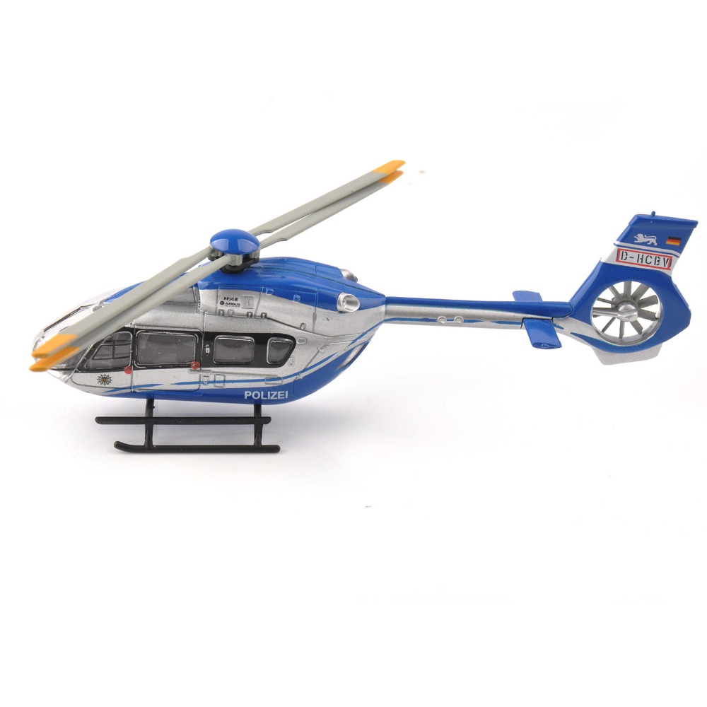 For Collection 1/87 Scale Airbus Helicopter H145 Polizei Schuco Aircraft Model Airplane Model for Fans Children Gifts