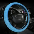 3D Pattern Car Steering Wheel Cover  Skidproof Silicone Soft Car cover  on the steering wheel Car accessories  Hot Sale