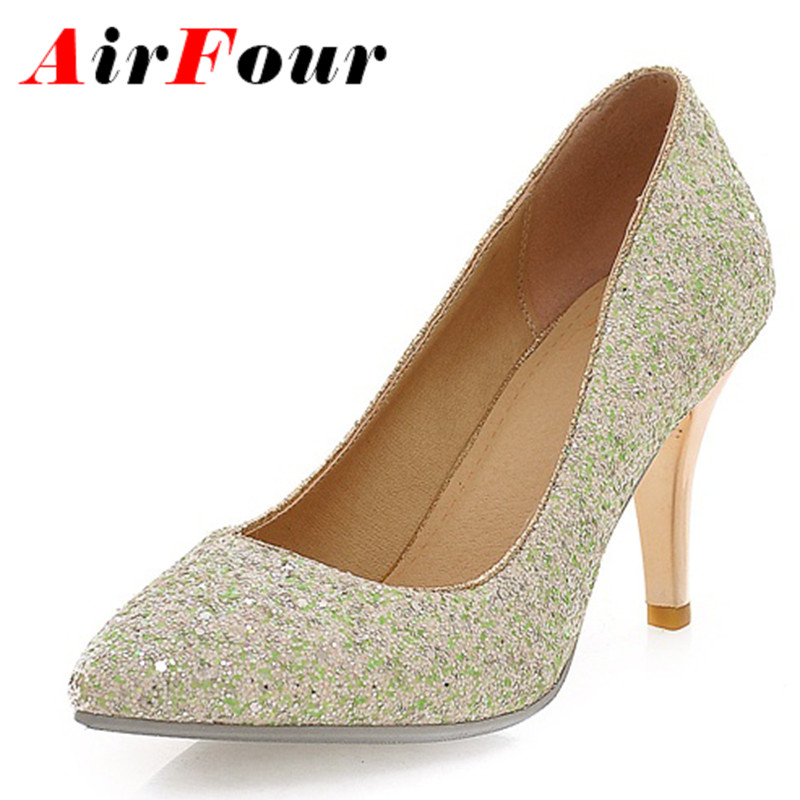 Popular Green Gold Shoes-Buy Cheap Green Gold Shoes lots from ...