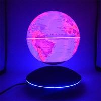 Творческий светодиодный магнитный левитационный шар ночные огни настольная лампа спальня детская подарки карта мира детские свет ночника