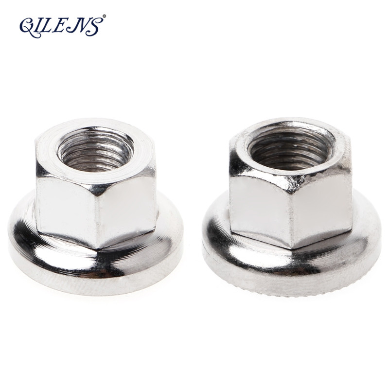 QILEJVS MTB Road Bike Steel Hubs Drum Screw Fixed Gear M9 M10 DIY Modified Accessory New
