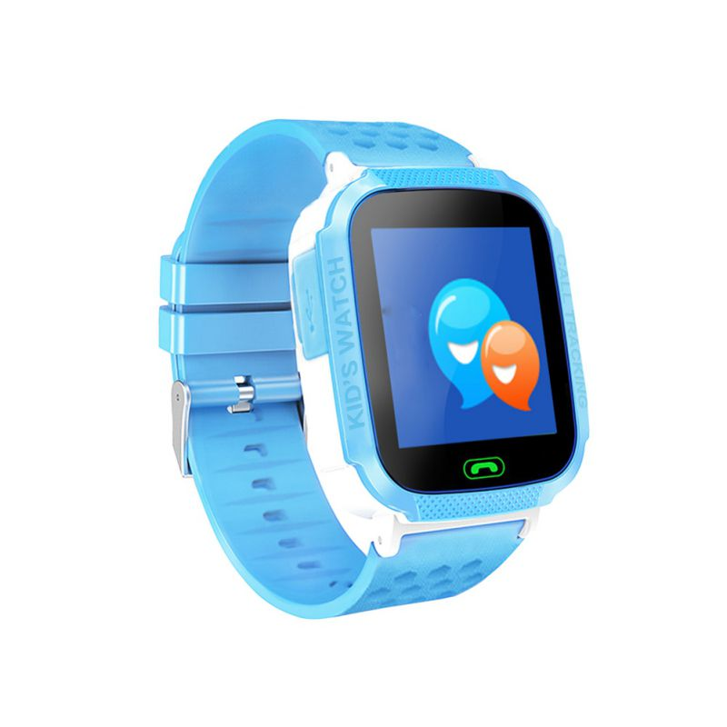 New Children Smart Watch LBS Location Soft Strap Wristwatch Wearable Device