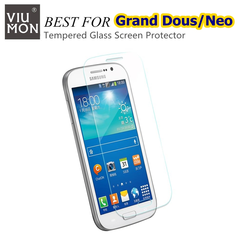 2.5D Tempered Glass Film For Samsung Galaxy Grand Neo  Plus  Dous Screen Protector GT-i9060 GT-i9060I GT-i9080 i9082