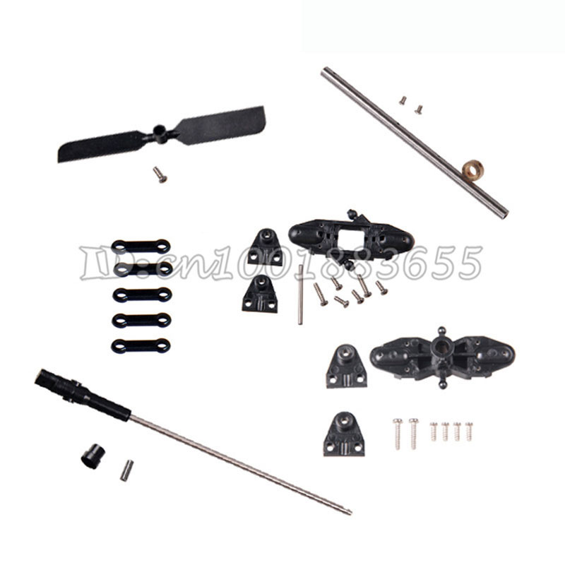 Wholesale/DH9053 RC Helicopter parts Main Blade Grip Set ,Bottom fan clip,Inner shalf,Hollow pipe,Connect buckle,Tail Blade free shipping dh 9053 parts gear blade clip balance bar for dh9053 rc helicopters spare parts