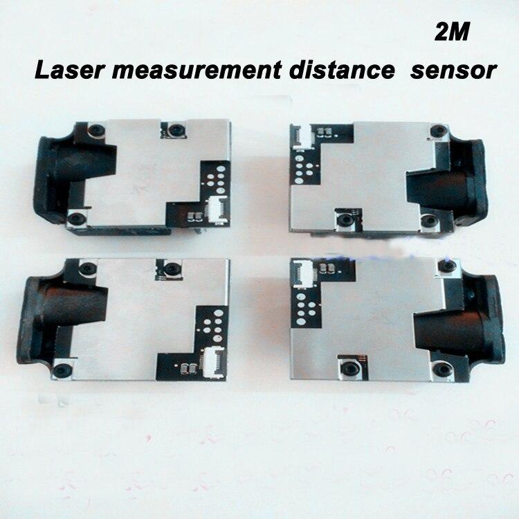 Verschiffen frei Hohe präzision laser sensor 2 Mt 20 HZ USB TTL MODUL serielle schnittstelle stc mikrocontroller hochfrequenzlaserentfernungsmesssensor + 1 - 2