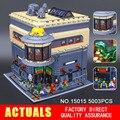 LEPIN 15015 5003 unids Ciudad MOC Creador El museo de dinosaurios Modelo Kits de Construcción de Juguete Ladrillo Compatible regalos de Navidad