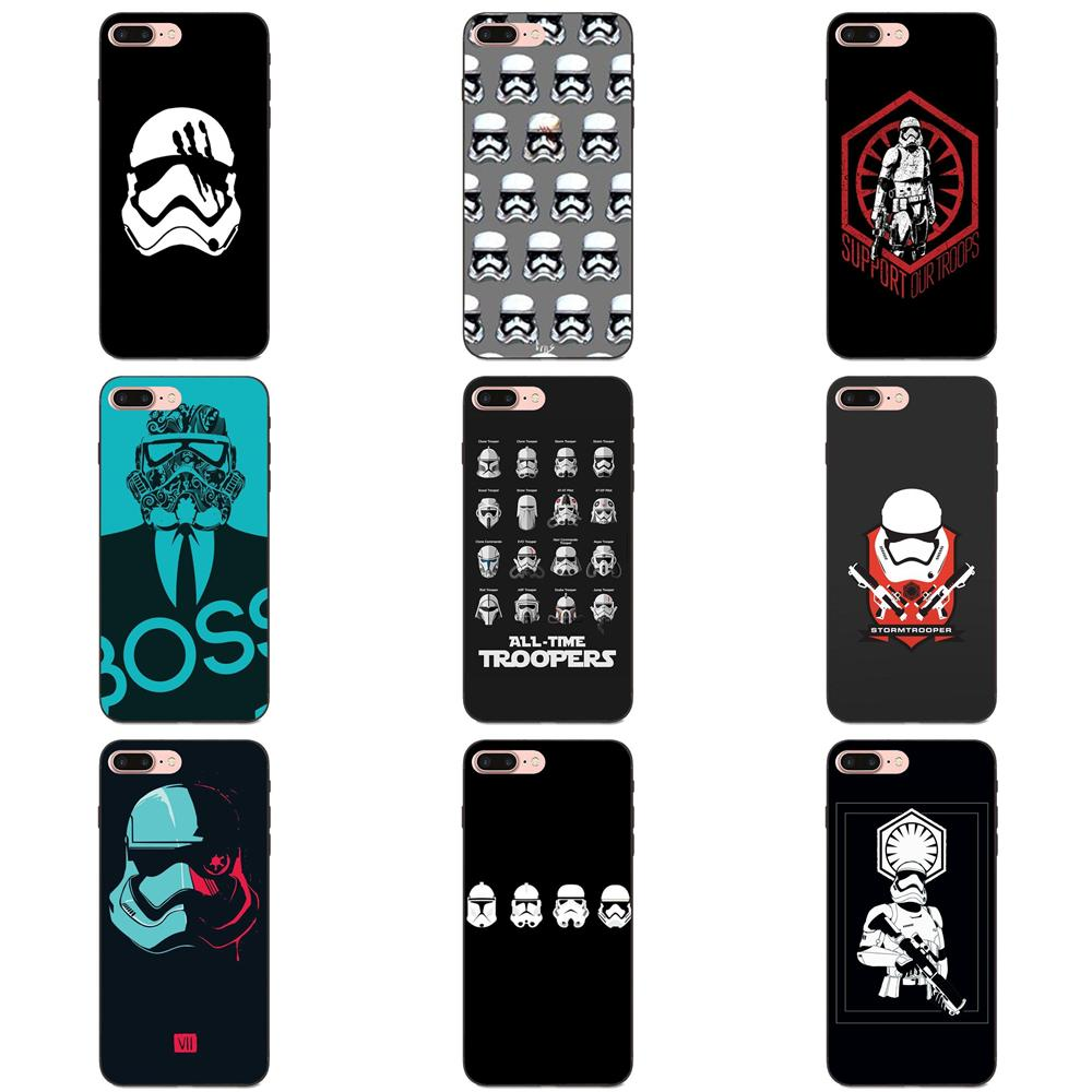 Cool Movie Star Wars Stormtrooper Funny For Huawei nova 2 Plus 2S 3i 4 4e Y3 Y5 II Y6 Y7 Y9 Lite Plus Prime 2017 2018 2019 image