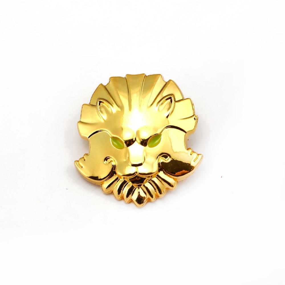 Dota 2 Brooch Lion Head TypeIcon Gold Metal Medallion Of ...