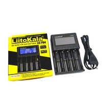 LiitoKala Lii-PD4 18650 26650 21700 4 слота ЖК-дисплей портативный дорожный аккумулятор зарядное устройство