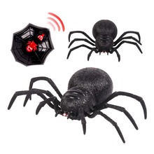 Two channels Remote Control Spider Scary Wolf Robot Realistic Novelty Prank Halloween Holiday RC Tricky Funny Toys