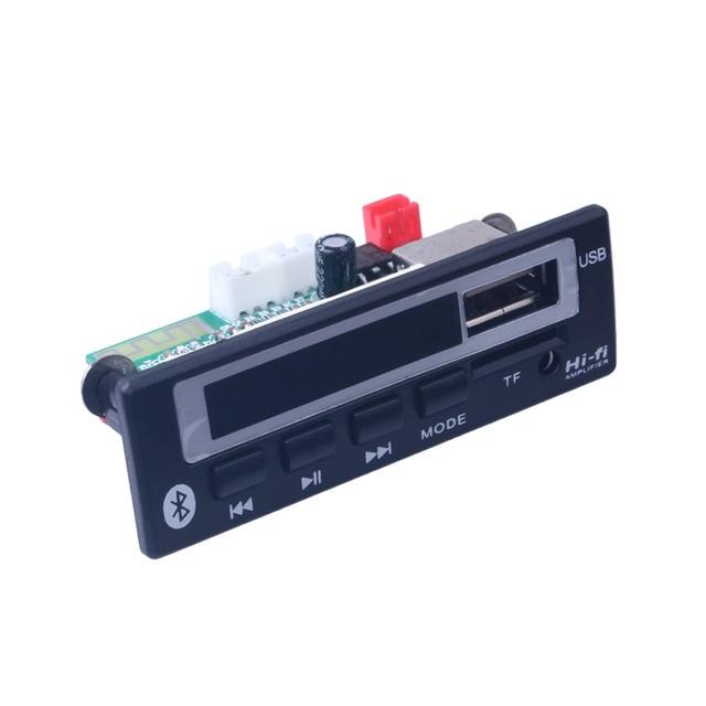 Bluetooth MP3 מפענח לוח MP3 כרטיס קורא MP3 Bluetooth מודול אודיו אביזרי עם FM רדיו