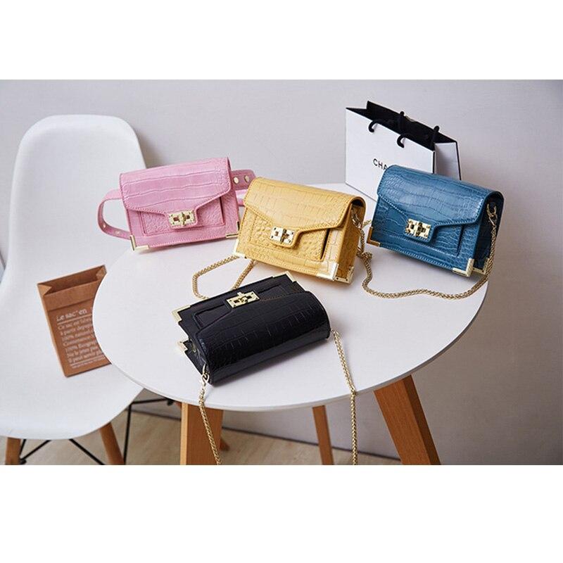 431b3e41bed Brand Fanny Pack High-quality Leather Waist Bag Women Single Shoulder Bag  2019 Fashion Waist