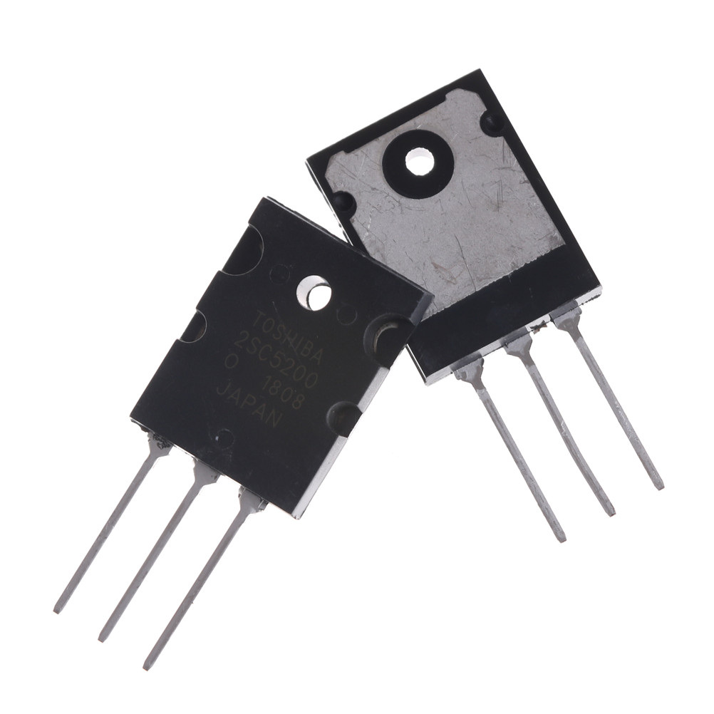 5 Pair Black 2SA1943 2SC5200 High Power Audio Transistor PNP Silicon Power Transistor
