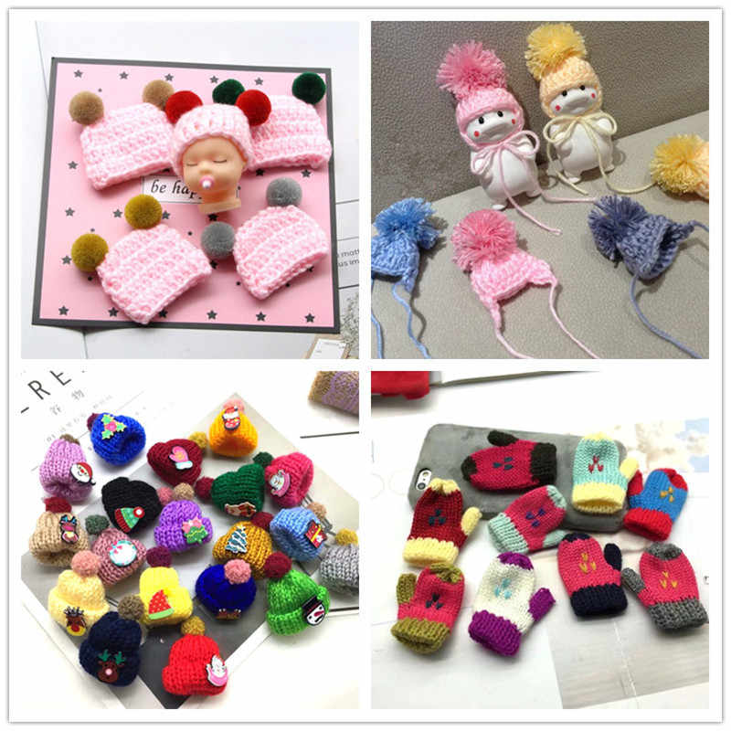 Mini Handmade Small Knitting Parts for DIY Dolls Decoration Phone case Decoration