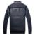 2016 popular do inverno dos homens amassado jaqueta de algodão-acolchoado com capuz moda aquecimento puro algodão outerwear cavalheiro frete grátis