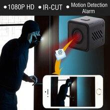 1080 P HD Mini WI-FI IR-CUT Камера Беспроводной инфракрасный Ночное видение Малый Cam Wi-Fi IP микро видеокамера удаленный сигнал тревоги Регистраторы Spycam