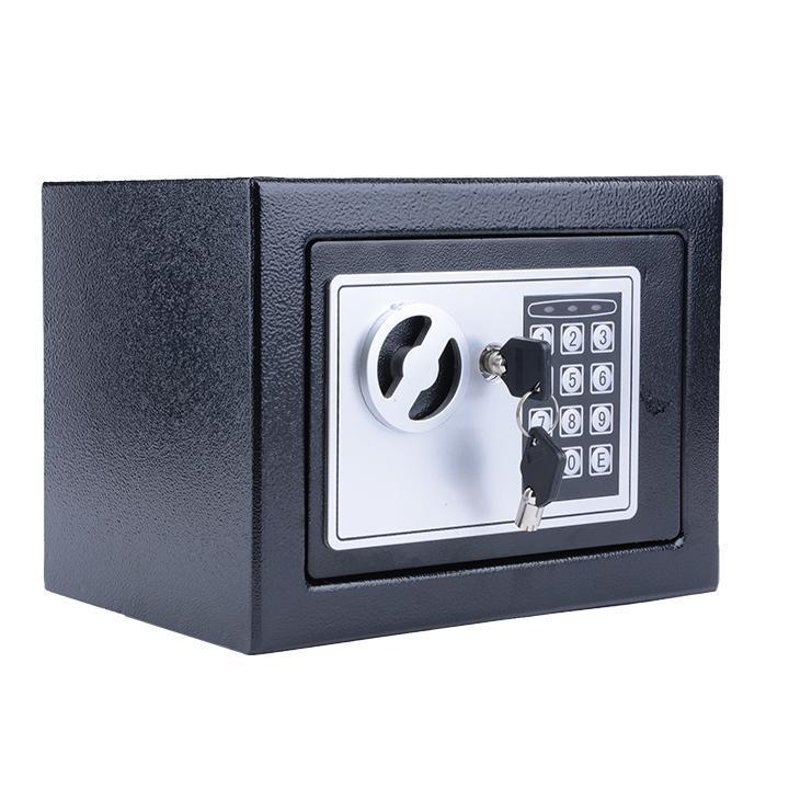 Flat Electronic Hidden Wall Safe Jewelry Handgun Cash Security Keypad Code Key