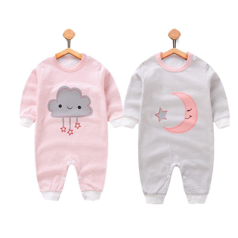 2017 New Baby Rompers Spring Newborn Baby Clothes Baby Girls Clothing Roupa Infant Jumpsuits Cute Baby