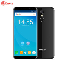 OUKITEL C8 3G Smartphone 5.5 inch 2.5D Arc Screen Quad Core 2GB RAM 16GB ROM Fingerprint Scanner 8.0MP Rear Camera Mobile Phone