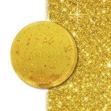 24K золотое мыло ручной работы антивозрастное морские водоросли глубокое очищение увлажняющее питательное отбеливание против морщин красота уход за лицом