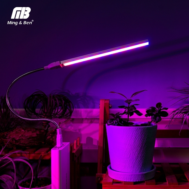 USB Full Spectrum Led Plant Grow Light 3W 5W 5V Fitolamp For Greenhouse Hydroponic Plant Garden Led Grow Lights Phyto Lamp