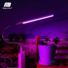 USB pełnozakresowe Led roślin oświetlenie do uprawy 3W 5W 5V Fitolamp dla hydroponiczna roślina szklarniowa ogród lampa Led do wzrostu oświetlenie do uprawy s lampa fito
