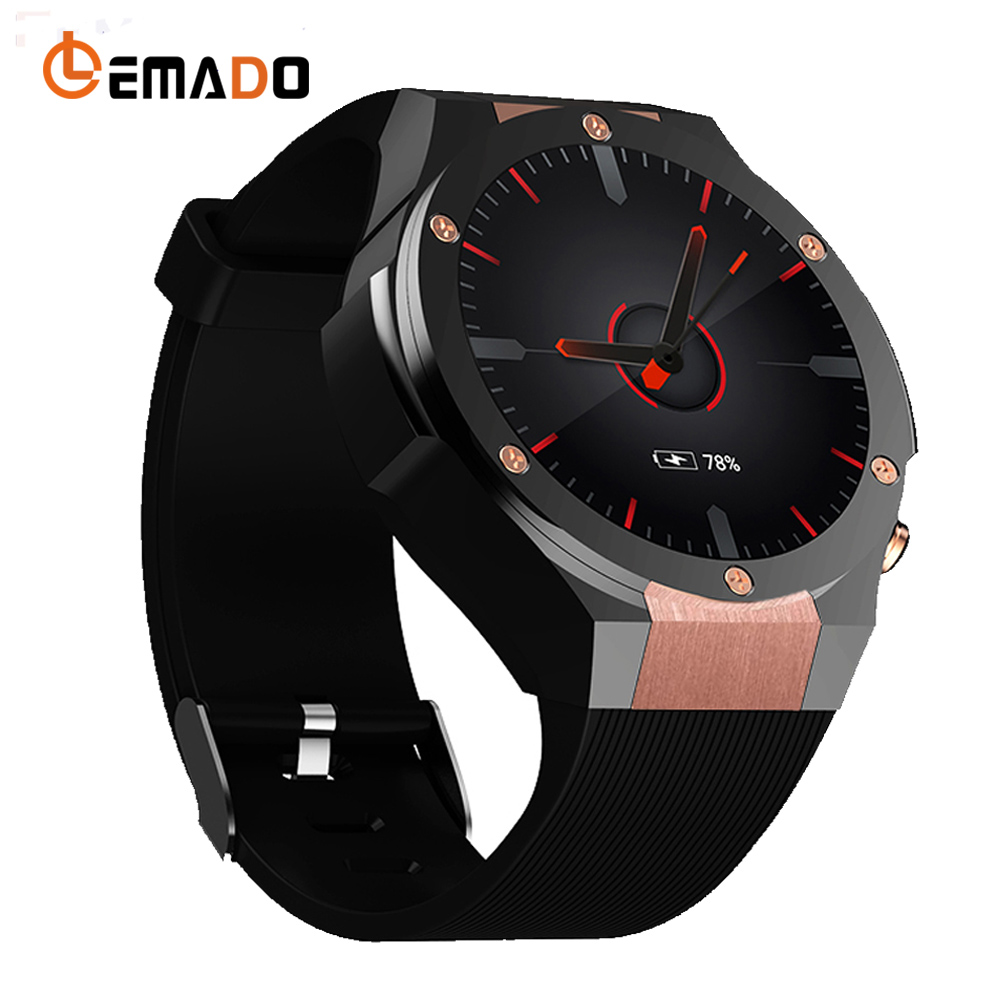Lemado H2 Bluetooth Smart Watch MTK6580 ROM 16GB RAM 1GB Heart Rate Smartwatch GPS WIFI 3G Smart Wristwatch with 5MP Camera no 1 d6 1 63 inch 3g smartwatch phone android 5 1 mtk6580 quad core 1 3ghz 1gb ram gps wifi bluetooth 4 0 heart rate monitoring